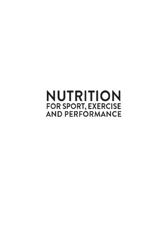 premium selection ba92b 34303 Nutrition for Sport, Exercise and Performance
