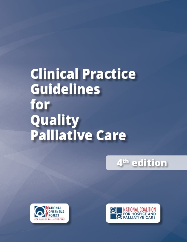 Clinical Practice Guidelines for Quality Palliative Care