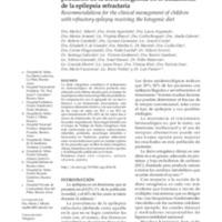 Dieta cetogenica para epilepsia pdf